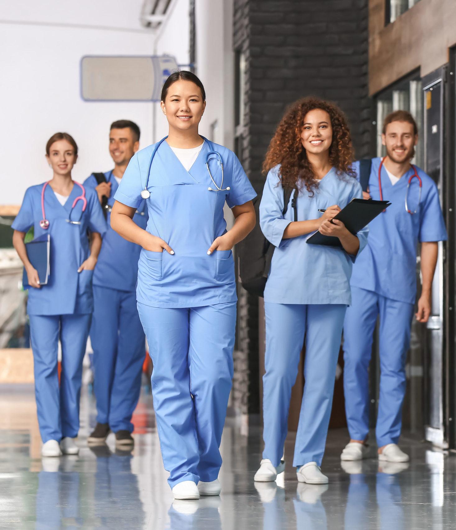 Groupe détudiants en medecine/ internes